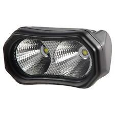 Pilot PLX 840 Lumens 2 Bulb LED Off Road ATV Wire In Light Flood Light A205