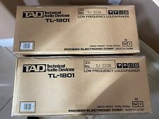 "Pair TAD TL-1801 18"" woofers  ***Brand New***"