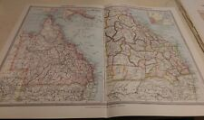 Queensland Nos 203-204: Map from Harmsworth Universal Atlas (c.1900)