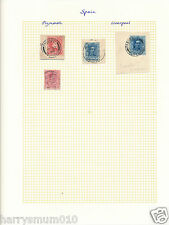 Paquebot postmark cancel Packet boat Stamp Spain  SA5