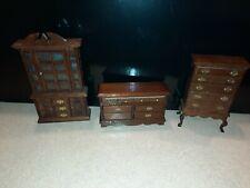 1:12 Dollhouse Furniture bedroom accessories minature 3 piece lot