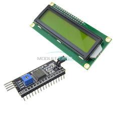 IIC/I2C/TWI/SPI interface Board Module +1602 16x2 LCD Yellow Display HD44780