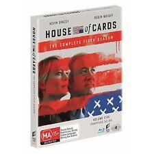 House Of Cards : Season 5 (Blu-ray, 2017, 4-Disc Set)(Region B) Aussie Release