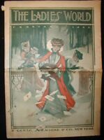 The Ladies World magazine~February 1903~S.H.Moore & Co., NY. ~Great Ads