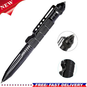 Military Tactical Pen EDC Pro Self Emergency Glass Defence Survival Pen Tool UK