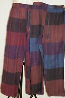 Pants Stripped Tibetan cotton hippy Men's Nepal yoga Comfy Unisex summer weight
