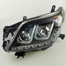 For Toyota Prado 2700 FJ150 2009-2013 LED U Angel Eyes LED Front Lamps Headlight