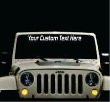 Jeep Car And Truck Graphics Decals For Sale Ebay