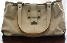 LAMARTHE wunderschöne Handtasche Shopper weiß/natur NEU