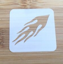 Face paint stencil reusable washable fast flame  Mylar 4.5 x 4.5 cm