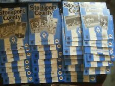 More details for stockport county 1984/85 28 home programmes