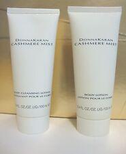 DONNA KARAN DK CASHMERE MIST 3.4 OZ 100 ML PERFUME BODY CREAM & CLEANSING LOTION