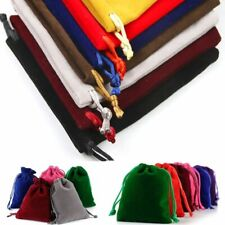 Bag Drawstring10Pcs Colorful Flannel Jewelry Packaging Display Gift Wrapping DIY