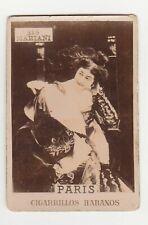 Paris Cigarrillos Habanos Sepia Photos Series Cigarette Tobacco Card #315 Marian