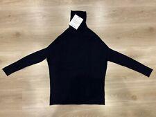 Tory Burch OATMEAL Oversized Turtleneck Sweater Jumper Size - XS (X-Small) BNWT