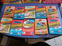 HUGE LOT OF 150-PLUS VINTAGE DONRUSS BASEBALL CARDS IN 15 SEALED PACKS!!!