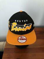 Boston Bruins New Era 9FIFTY Vintage Hockey Snapback Hat New