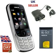 New Condition Nokia 6303i Silver Unlocked Camera Bluetooth Classic Mobile Phone