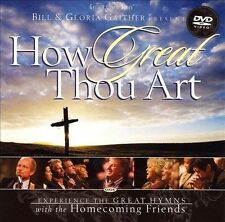 NEW! How Great Thou Art - Bill & Gloria Gaither - GAITHER GOSPEL SERIES CD
