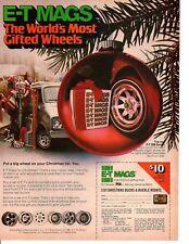 1977 ET MAG WHEELS ~ ORIGINAL PRINT AD