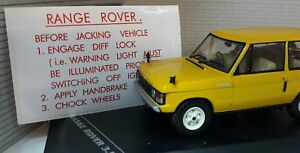 Land Range Rover Classic Suffix A B Rear Jack Jacking Storage Tool Info Decal