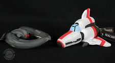Battlestar Galactica Viper & Cylon Raider Plush Space Ship Set of 2