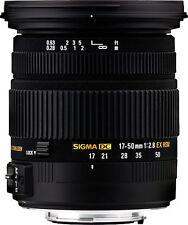 Brand New Sigma EX DC OS HSM 17-50mm f/2.8 OS HSM DC Lens For Minolta/Sony