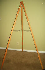 Easel Stand for Tri-looms and Square Looms Made of Red Oak from Tri-looms by Jim