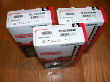 """3 Oregon 72JGX084G 25"""" full skip chainsaw saw chains 84 DL  replaces 33RSF 84"""