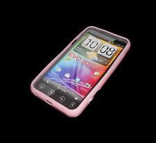 HTC EVO 3D G17  PINK SOFT PLASTIC SMARTPHONE CASE SUPER FAST SHIPPING