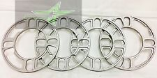4 WHEEL SPACERS 5MM 3/16 | FITS 4X100 4X108 4X114 4X120 5X108 5X112 5X114 5X120