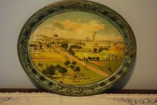 Vintage Gettysburg metal tray RARE
