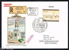 AUSTRIA 1 BUSTA PRIMO GIORNO FDC WIPA 1979