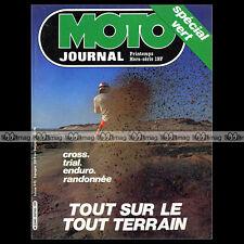 MOTO JOURNAL HS 7 HORS SERIE ★ GUIDE TOUT-TERRAIN 1981 ★ PARIS-DAKAR LE TOUQUET
