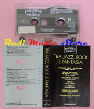 MC EMOZIONI IN MUSICA Tra jazz rock fantasia compilation 1991 AREA cd lp dvd vhs