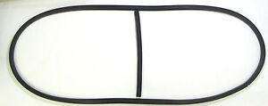 1949-1950 Chrysler, DeSoto Front Windshield Rubber Gasket Seal With Center Bar