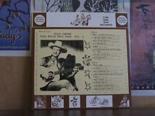 WILF CARTER MONTANA SLIM VERY EARLY 1 COW GIRL BOY LP