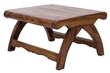 Tische im Kolonialstil aus Massivholz, Tischteile & -zubehör