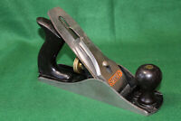 FINE Stanley Bailey No 4 Type 19 Made in USA Smooth Woodworking Plane Inv#JB11