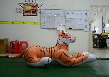Can Withstand 300 Pounds of Body Weight  Inflatable Tiger Size 6.56ft Long