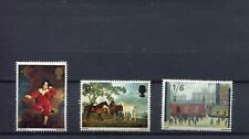GB BRITISH PAINTINGS SG748-750 COMPLETE SET, LH MOUNTED MINT