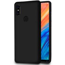 Slim Hülle Case für Xiaomi Mi Mix 2S Ultra-Slim Schutzhülle TPU Cover Schwarz
