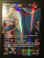 Carte Pokemon LATIOS 101/108 Holo EX FULL ART XY6 Française NEUF