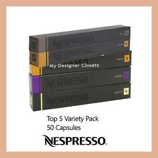 50 Capsules Nespresso Coffee Essential Variety Pack Mixed Pod - Top 5 Popular