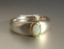 Neues AngebotEinzelstück * Ring * 925 Silber * 750 Gold * Opal