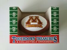 Minnesota Golden Gophers Mini Football Hanging Christmas Xmas Ornament