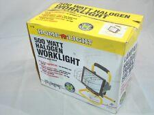 HOME LIGHT L-18 500 WATT HALOGEN WORKLIGHT W/ BULB ***NIB***