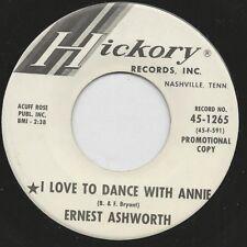 "1964 ERNEST ASHWORTH 7"" 45rpm I Love To Dance With Annie VG+  WLP"