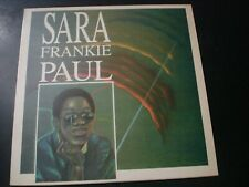SARA FRANKIE PAUL SELF TITLED LP RECORD UK