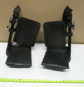 Pair of  Wheelchair Leg Rest Assembly???